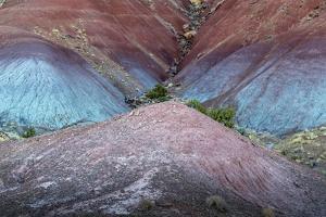 Colorful desert strata, Utah by Art Wolfe Wolfe