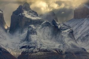 Cuerno Este, Cordillera Paine, Chile by Art Wolfe Wolfe