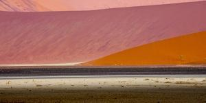 Desert landscape, Namibia, Africa by Art Wolfe Wolfe