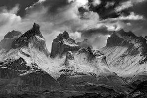 Los Cuernos, Cordillera Paine, Chile by Art Wolfe Wolfe