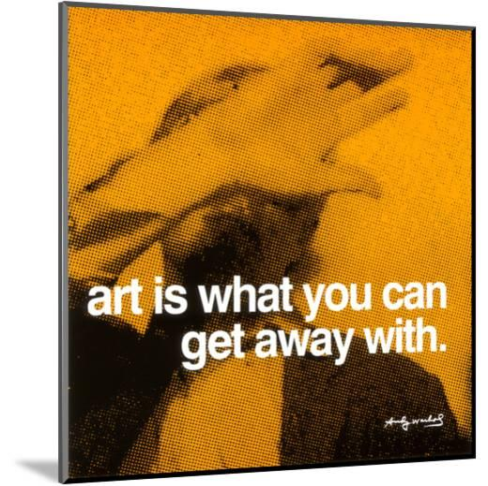 Art--Mounted Print