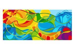 Rio. 2016 Abstract Colorful Background. Rio De Janeiro 2016-2019 Brazil Wallpaper. Summer Athletic by ArtDesign Illustration