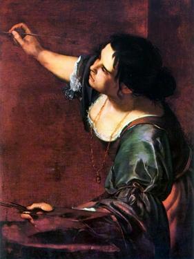 Artemisia Gentileschi by Artemisia Gentileschi