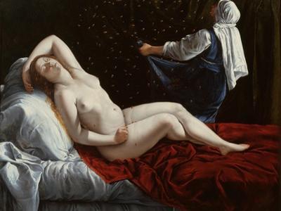 Danaë, C.1612 by Artemisia Gentileschi