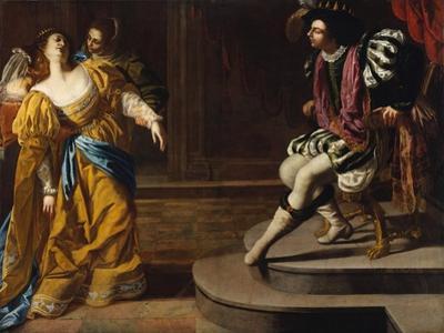 Esther before Ahasuerus, c.1630 by Artemisia Gentileschi