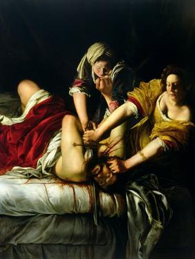 Judith and Holofernes, 1612-21 by Artemisia Gentileschi