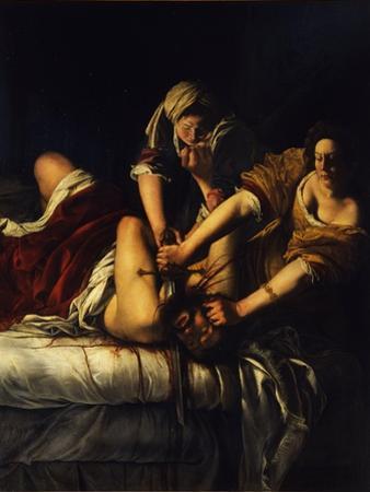Judith and Holofernes, C. 1621 by Artemisia Gentileschi