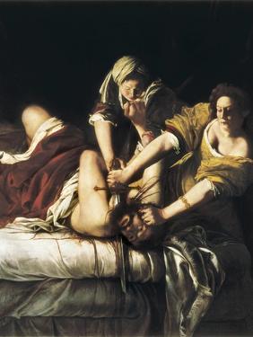 Judith and Holofernes by Artemisia Gentileschi