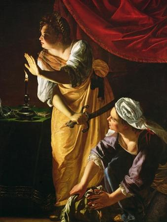 Judith and Maidservant with the Head of Holofernes, c.1625 by Artemisia Gentileschi