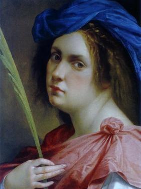 Self Portait as a Martyr, C.1615 by Artemisia Gentileschi