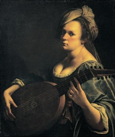Self-Portrait as a Lute Player by Artemisia Gentileschi