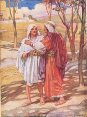 David and Jonathan by Arthur A. Dixon