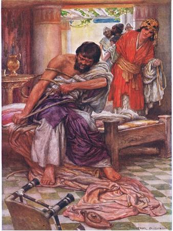 Samson Broke the Ropes That Bound Him