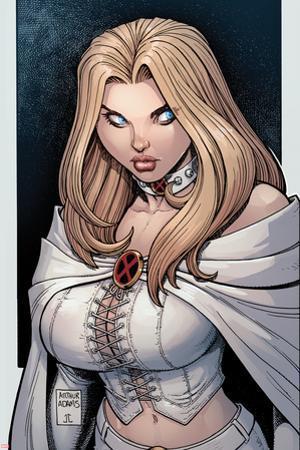 Astonishing X-Men No.43 Cover: Emma Frost