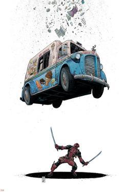 Deadpool #8 Cover: Deadpool by Arthur Adams