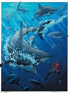 Deadpool #9 Cover: Deadpool by Arthur Adams