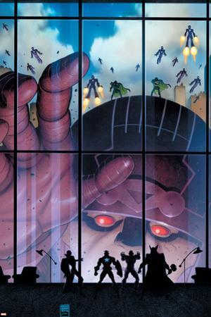 Secret Avengers #35 Cover: Sentinel