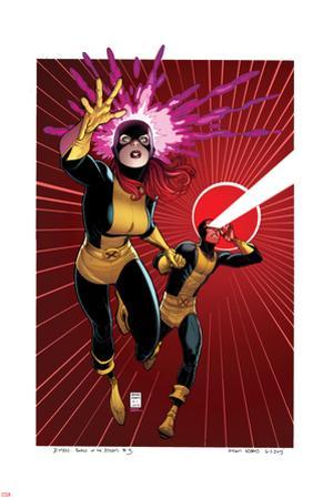 X-Men #5 Cover: Grey, Jean, Cyclops