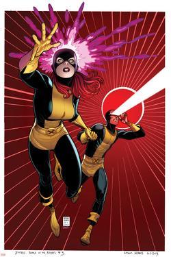 X-Men #5 Cover: Grey, Jean, Cyclops by Arthur Adams