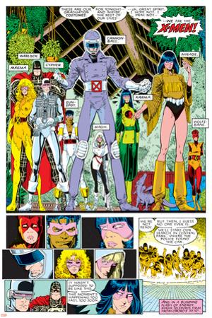 X-Men Annual No.10 Group: Warlock, Sunspot, Cannonball, Cypher, Magma, Magik and New Mutants