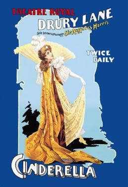Cinderella at the Theatre Royal Drury Lane by Arthur Benjamin Helsby