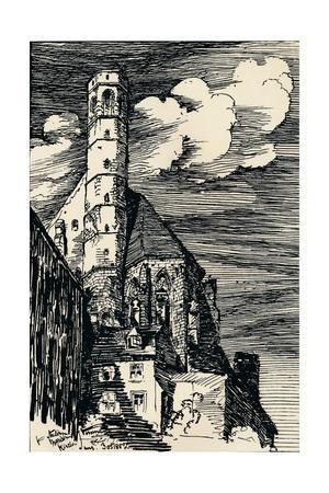 'The Italian Marienkirche, Vienna', c1900