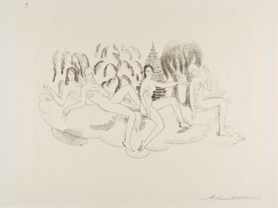 Hamadryads, 1919-20 by Arthur Bowen Davies