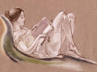 Reclining Woman by Arthur Bowen Davies