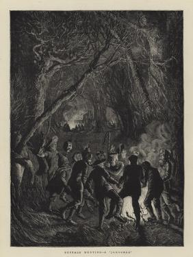 Buffalo Hunting, a Jamboree by Arthur Boyd Houghton