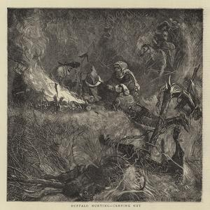 Buffalo Hunting, Camping Out by Arthur Boyd Houghton