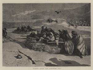 Buried Quick and Unburied Dead by Arthur Boyd Houghton