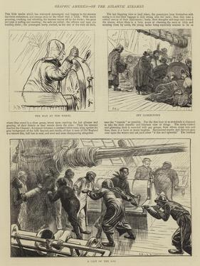 Graphic America, on the Atlantic Steamer by Arthur Boyd Houghton