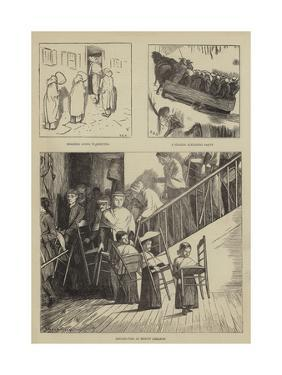 Graphic America, the Shakers by Arthur Boyd Houghton