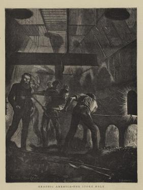 Graphic America, the Stoke Hole by Arthur Boyd Houghton