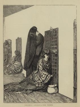 Graphic America, the Tombs by Arthur Boyd Houghton