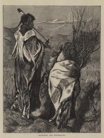 Hiawatha and Minne-Ha-Ha