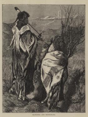 Hiawatha and Minne-Ha-Ha by Arthur Boyd Houghton