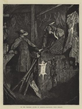 In the Western States of America, Bartering with Indians by Arthur Boyd Houghton