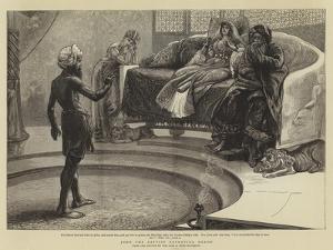 John the Baptist Reproving Herod by Arthur Boyd Houghton