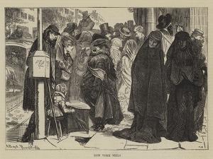 New York Veils by Arthur Boyd Houghton