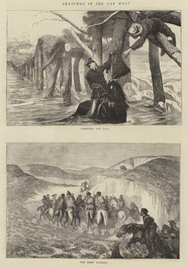 Sketches in the Far West by Arthur Boyd Houghton