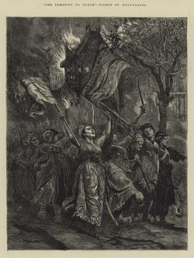 The Commune or Death, Women of Montmartre by Arthur Boyd Houghton