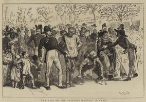 The Raid on the Useless Mouths in Paris by Arthur Boyd Houghton