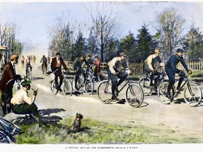 Bicycle Race, 1896