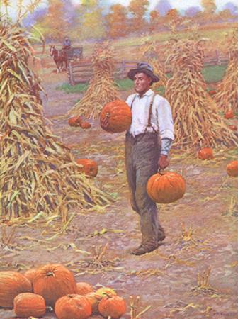 Farmer in Autumn 1906