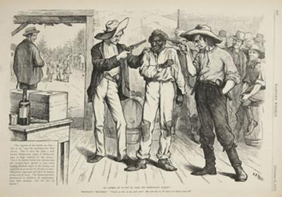 Of Course He Wants to Vote the Democratic Ticket, 1876