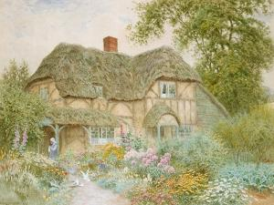 A Surrey Cottage by Arthur Claude Strachan