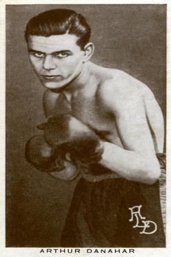 Arthur Danahar, British Boxer, 1938