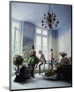 House & Garden - March 1988 by Arthur Elgort
