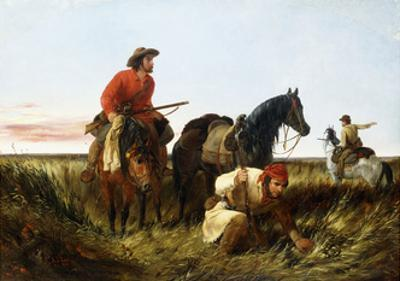 Trappers Following the Trail: at Fault, 1851